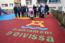 Ses Figueretes, primer barrio de la isla de Ibiza en tener un parque de juegos inclusivo
