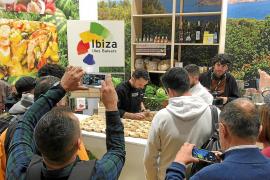 La presencia de los restaurantes participantes de Sant Antoni en el estand de Ibiza fue todo un éxito