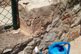 Hoy se derribarán las columnas del patio donde falleció un niño el pasado 2 de mayo en Sant Antoni