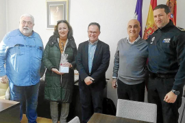 Homenaje a tres policías locales de Sant Josep que se jubilan