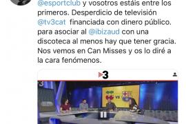 Enfado de Salvo con 'TV3'