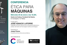 Conferencia de José Ignacio Latorre en el Club Ultima Hora