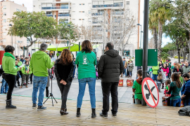 La marea verde no se fía de que el Govern devuelva los remanentes recortados