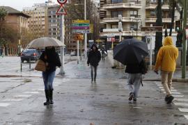 Día de lluvia en Palma
