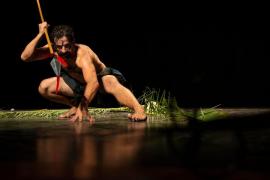 La obra 'Magallanes.0' en el Teatre Principal de Palma