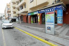 Un taxi en la parada de calle Galicia en una imagen de archivo