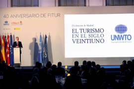 Cena conmemorativa del 40 aniversario de Fitur