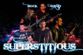 El 'hard rock' de Superstitious en La Movida