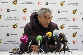 Quique Setién: «El Ibiza ha hecho un gran partido»