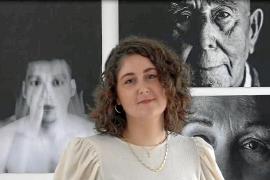 Irene Boned, la joven ibicenca que sorprende por su original exposición