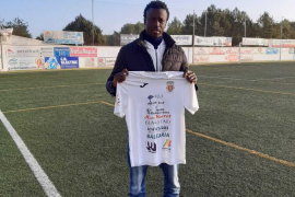 Abdoulaye, el nuevo jugador de la Peña Deportiva