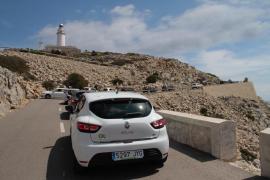 Tráfico en Formentor
