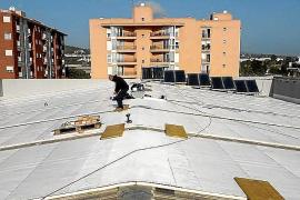 Más de 100.000 euros para renovar la cubierta del pabellón de es Viver