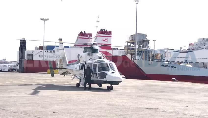 La Guardia Civil envía un helicóptero de Madrid para ayudar al rescate