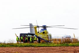 Los sindicatos piden una aeronave de refuerzo en la nueva contrata del transporte sanitario