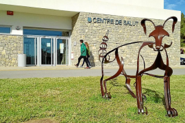 'Geneta', la bienvenida al centro de salud de Sant Josep