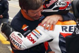 Pedrosa bate a Stoner en Le Mans y Lorenzo saldrá cuarto