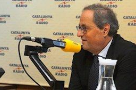 Torra deja en el aire la mesa de diálogo, la condiciona a lo que le plantee Sánchez y exige negociar autodeterminación