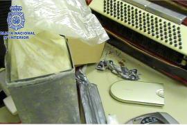 Desarticulada una banda que ocultaba cocaína en objetos insospechados