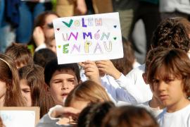 Los escolares de Ibiza apuestan por la paz