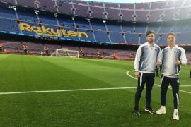 Dani Plomer, del barro de La Antoniana al Camp Nou