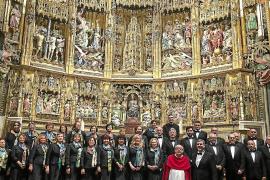En la catedral de Toledo