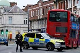 """Tres heridos en Londres por un apuñalamiento clasificado como """"ataque terrorista"""""""