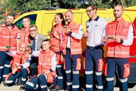 Técnicos del SAMU promueven con la AECC una iniciativa en Baleares para recaudar fondos para la lucha contra el cáncer